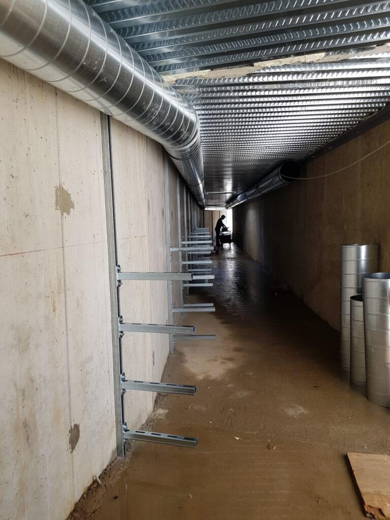 Aspirazione primaria tunnel servizio